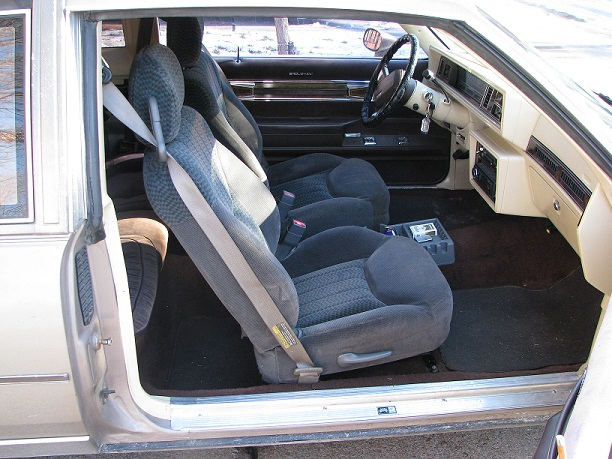What seats have been used in G Body's? - GBodyForum - '78-'88