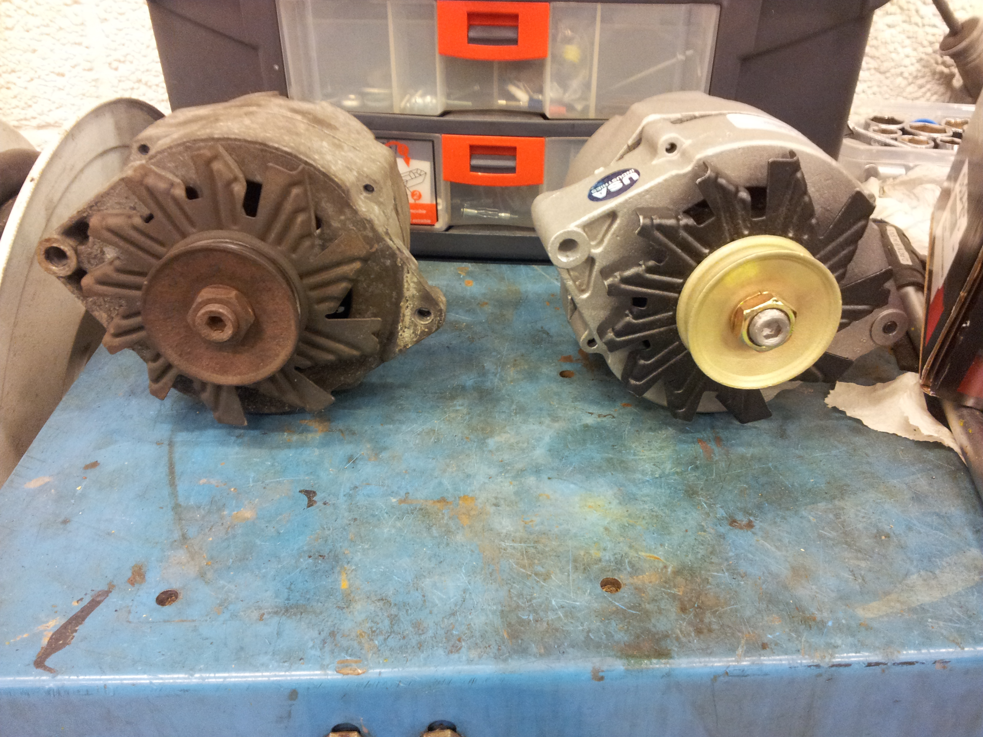 New Alternator acts weird, and barely charges battery. | GBodyForum ...