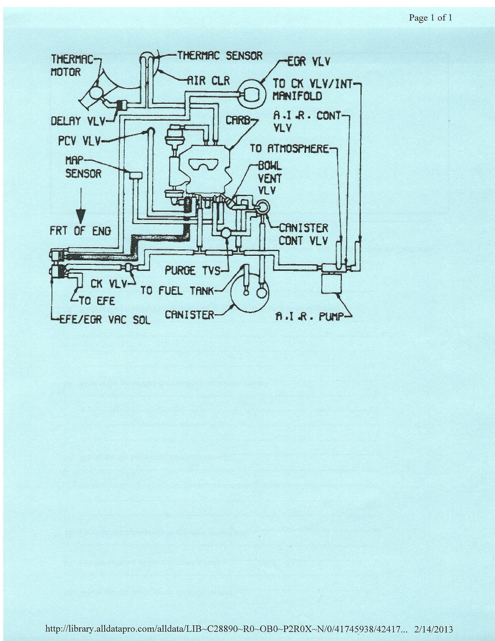 vacumm diagram and a c heater control vacuum diagram gbodyforum