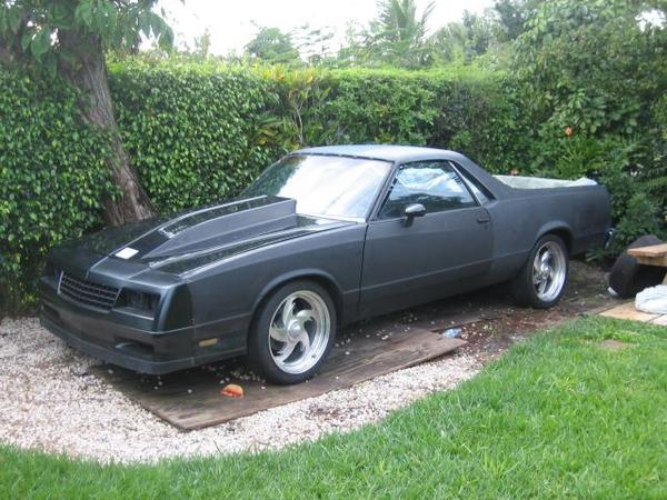 82-87 El Camino - can you put a M/C SS nose on it