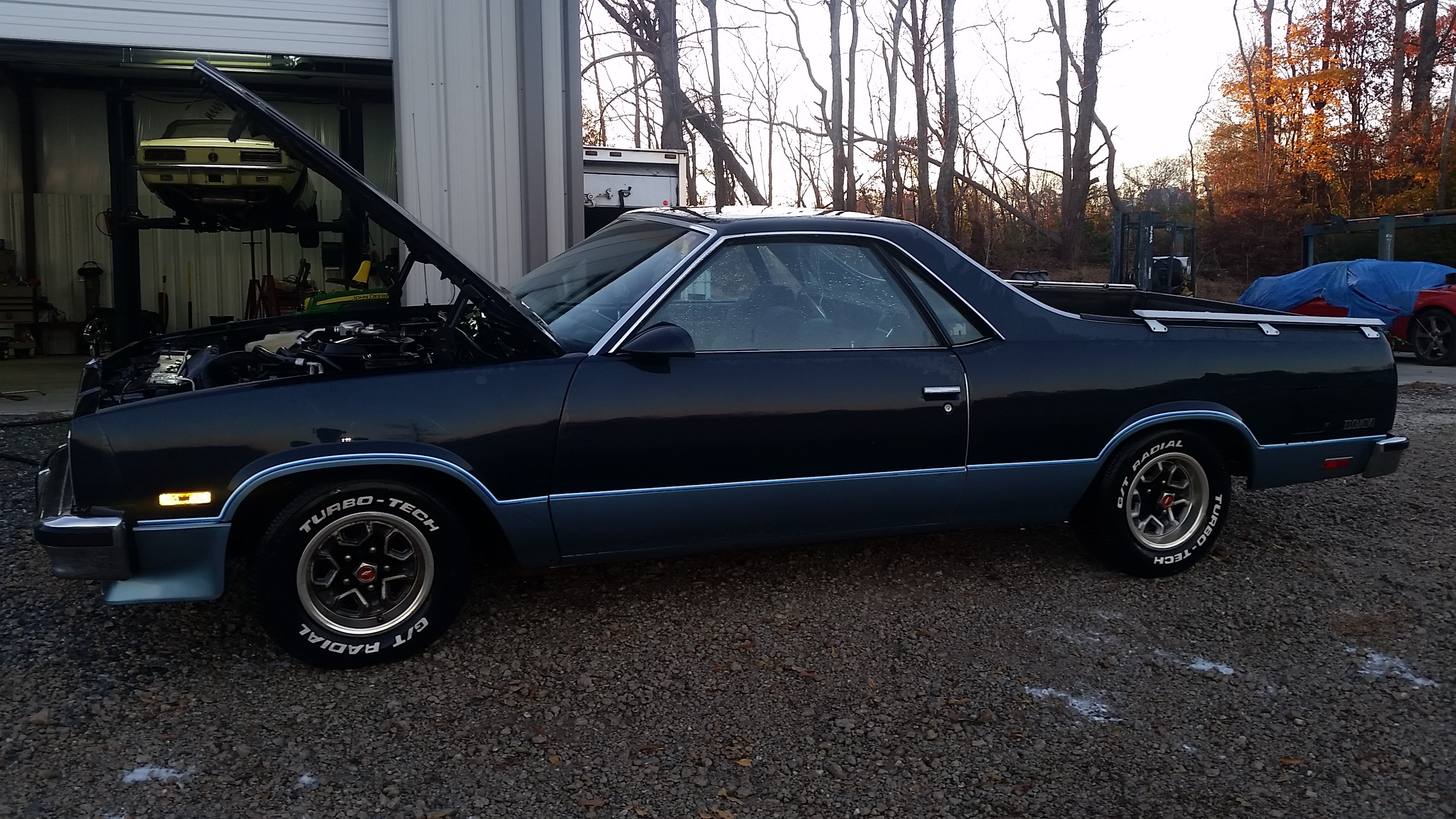 1986 Buick Regal >> No SS stickers on my new 1986 original paint el camino A ...