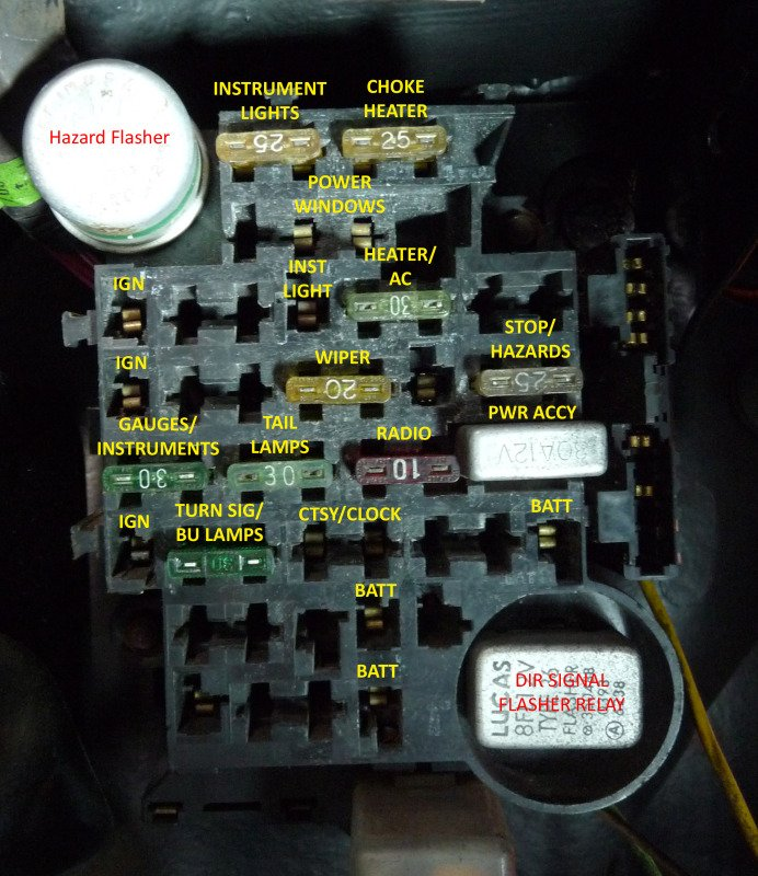 1980 monte carlo fuse box diagram gbodyforum '78 '88 general gm fuse box at fashall.co