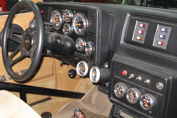 Making a custom instrument cluster - GBodyForum - '78-'88