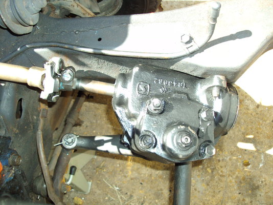 chevy s10 manual steering gear box