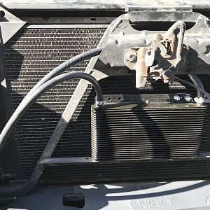 CaliWagon83's 2004 Chevy Avalanche Transmission Cooler