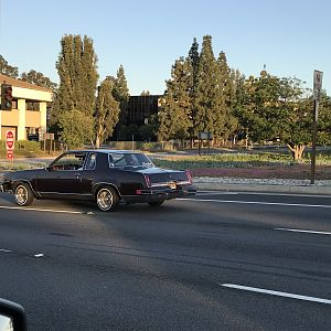 Clean Cutlass Lowrider, Lake Forest, CA