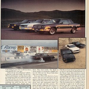 Modern Muscle (p.7) - Monte Carlo SS, Buick Grand National, Olds 442