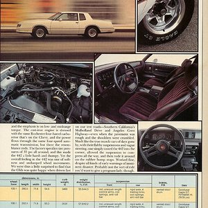 Modern Muscle (p.5) - Monte Carlo SS, Buick Grand National, Olds 442