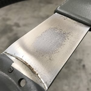 CaliWagon83's Sport Steering Wheel Spoke Rust Spot