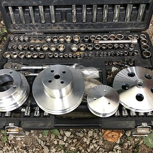Olds Aluminum Pulleys