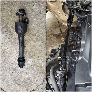 Jeep Steering shaft upgrade
