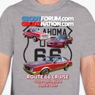 2017 Route 66 Cruise T-Shirt
